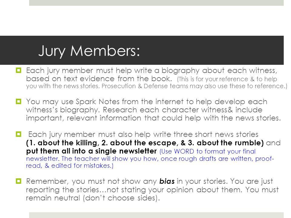 Jury Members: