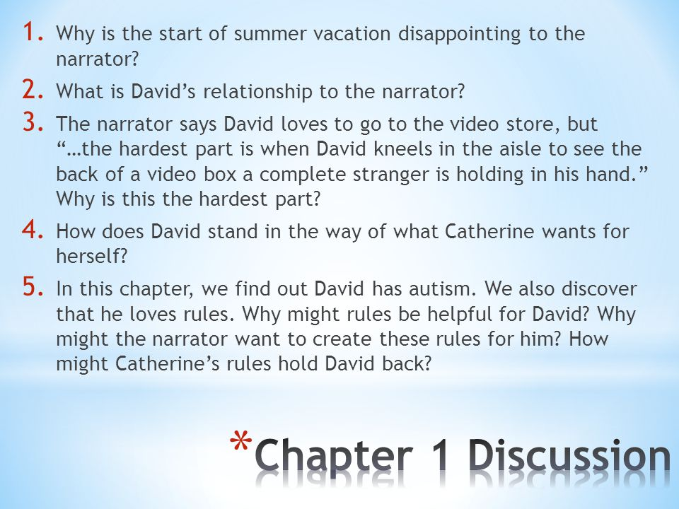 Why is the start of summer vacation disappointing to the narrator