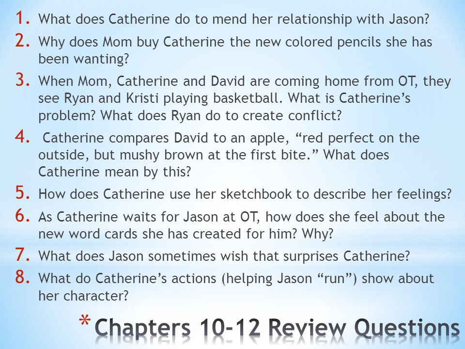 Chapters 10-12 Review Questions