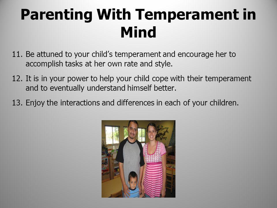 Parenting With Temperament in Mind