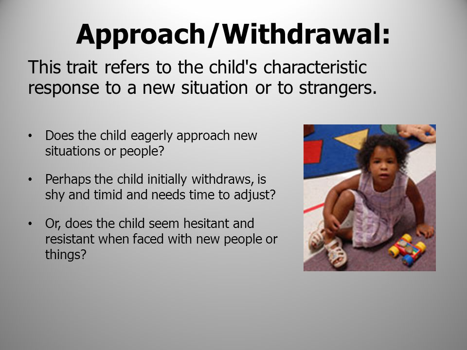 Approach/Withdrawal: