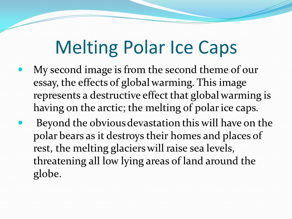 Melting Polar Ice Caps