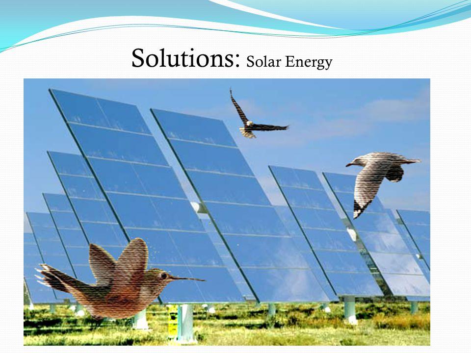 Solutions: Solar Energy