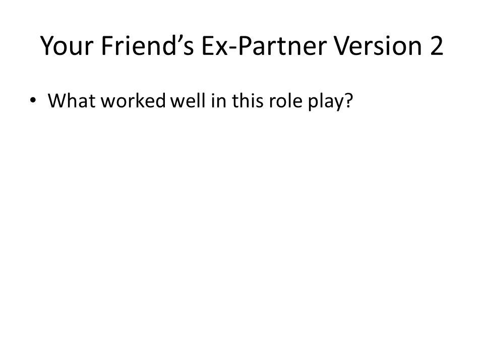 Your Friend's Ex-Partner Version 2