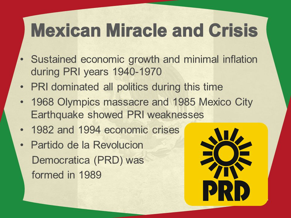 Mexican Miracle and Crisis