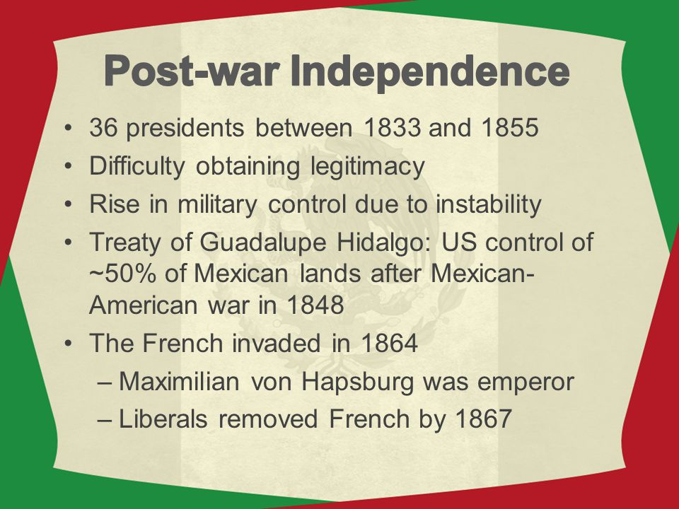 Post-war Independence