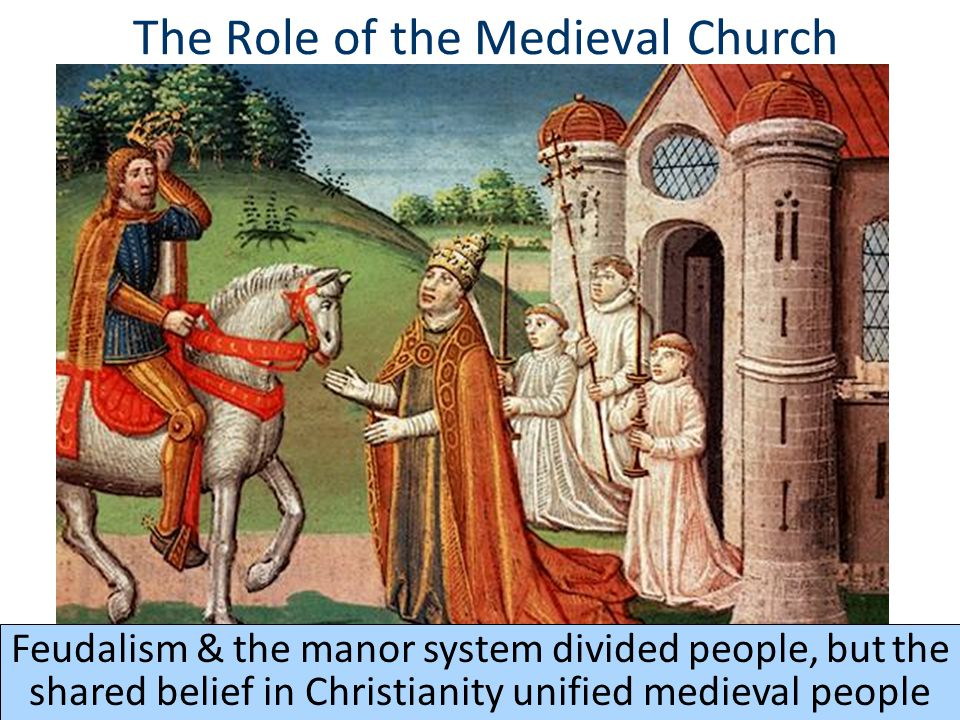 History: Christian/ Christianity In Middle Ages term paper 11047