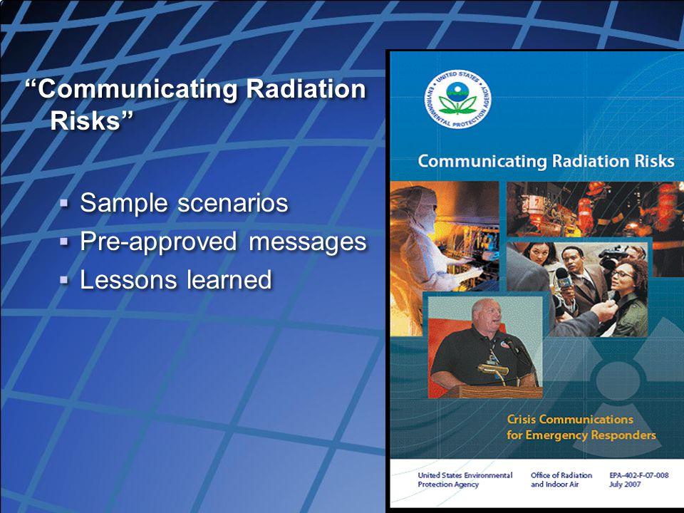 Communicating Radiation Risks
