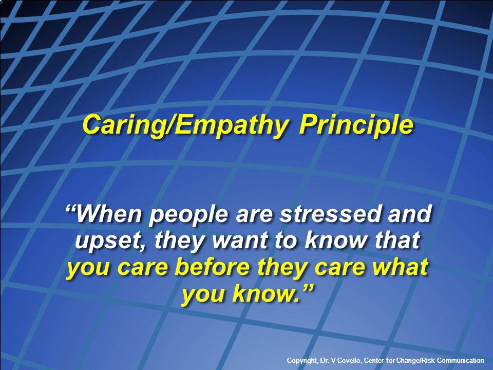 Caring/Empathy Principle
