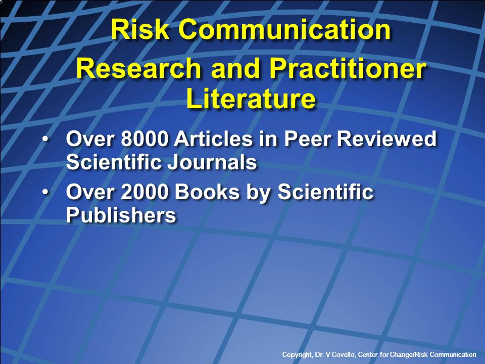 Research and Practitioner Literature