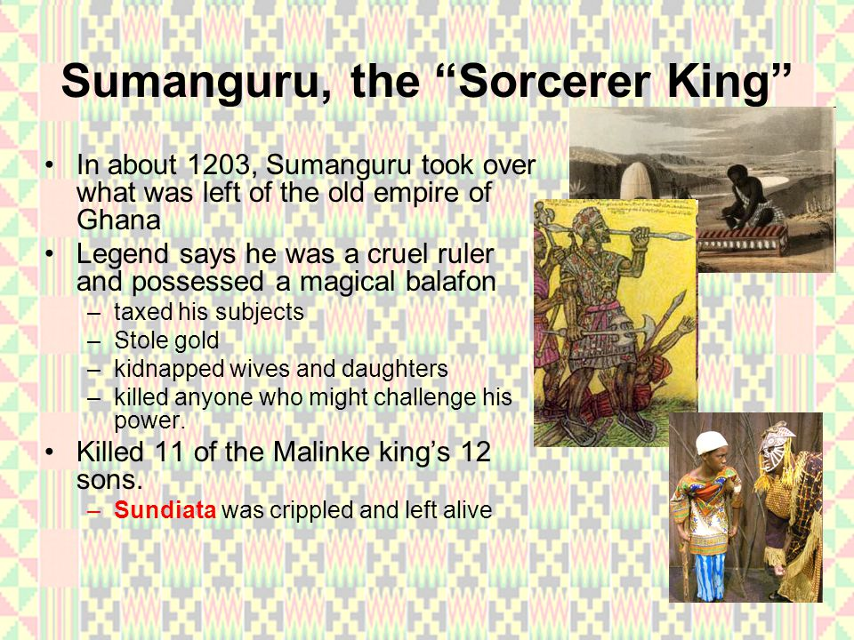 Sumanguru, the Sorcerer King