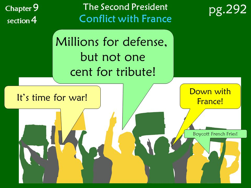 pg.292 Millions for defense, but not one cent for tribute!
