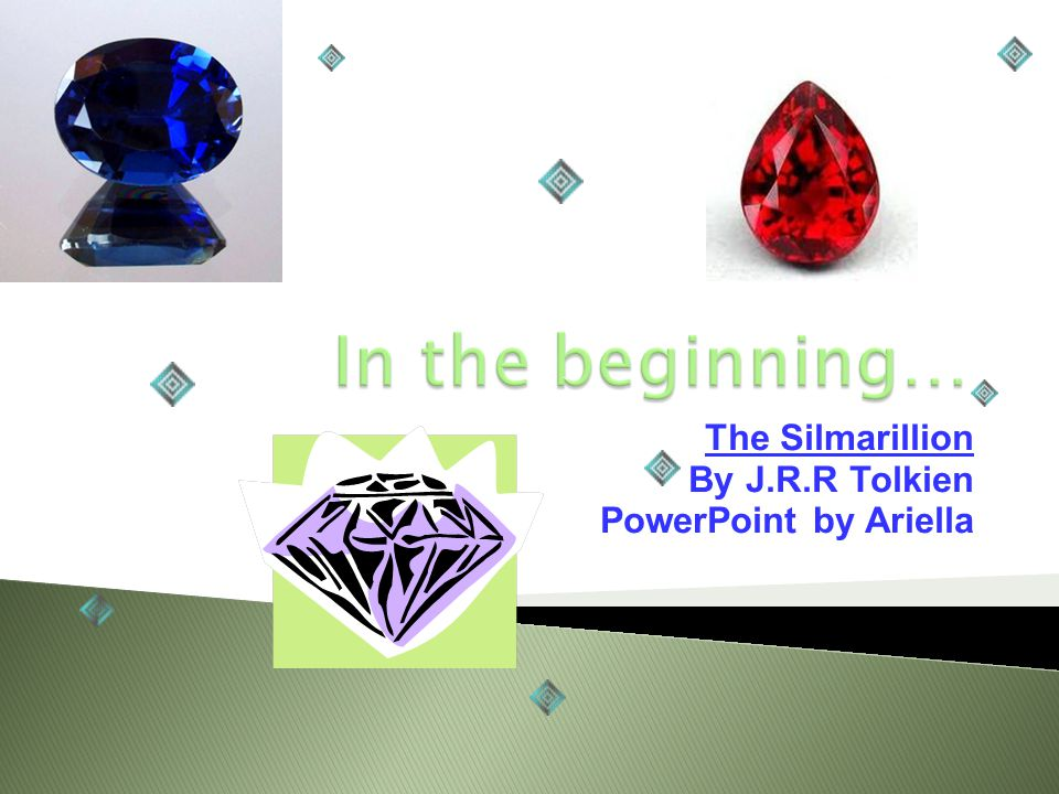The Silmarillion By J.R.R Tolkien PowerPoint by Ariella