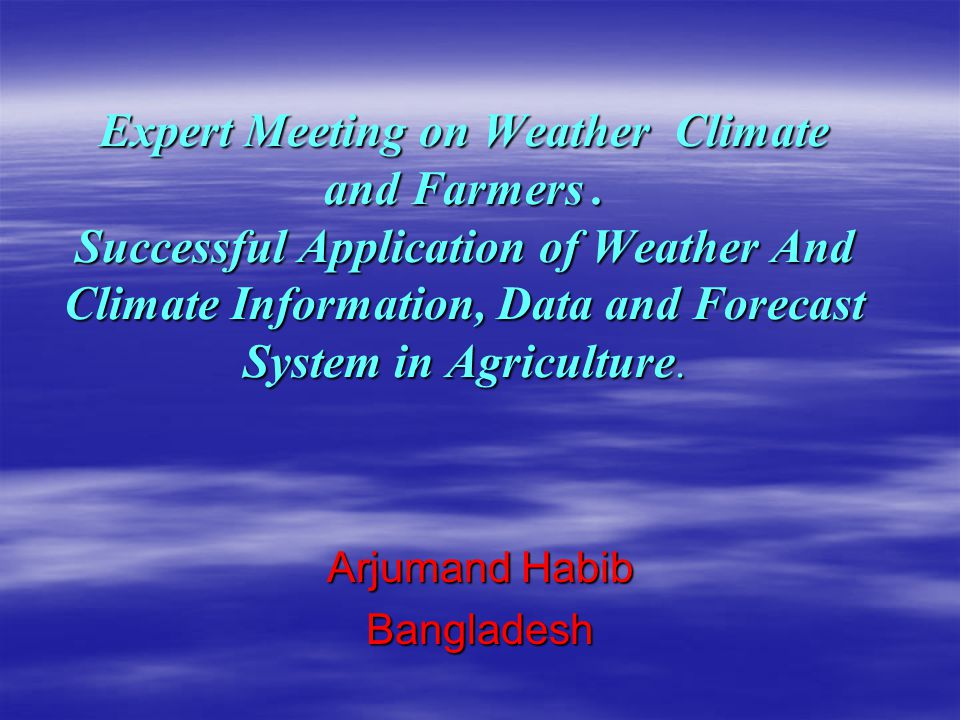 Arjumand Habib Bangladesh