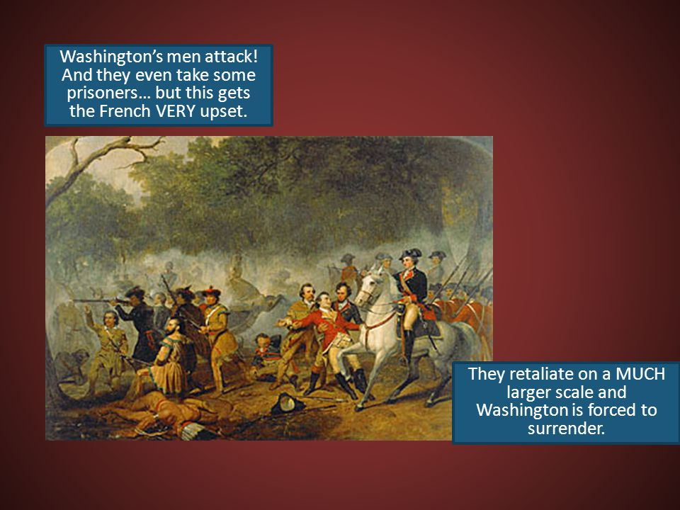 Washington's men attack