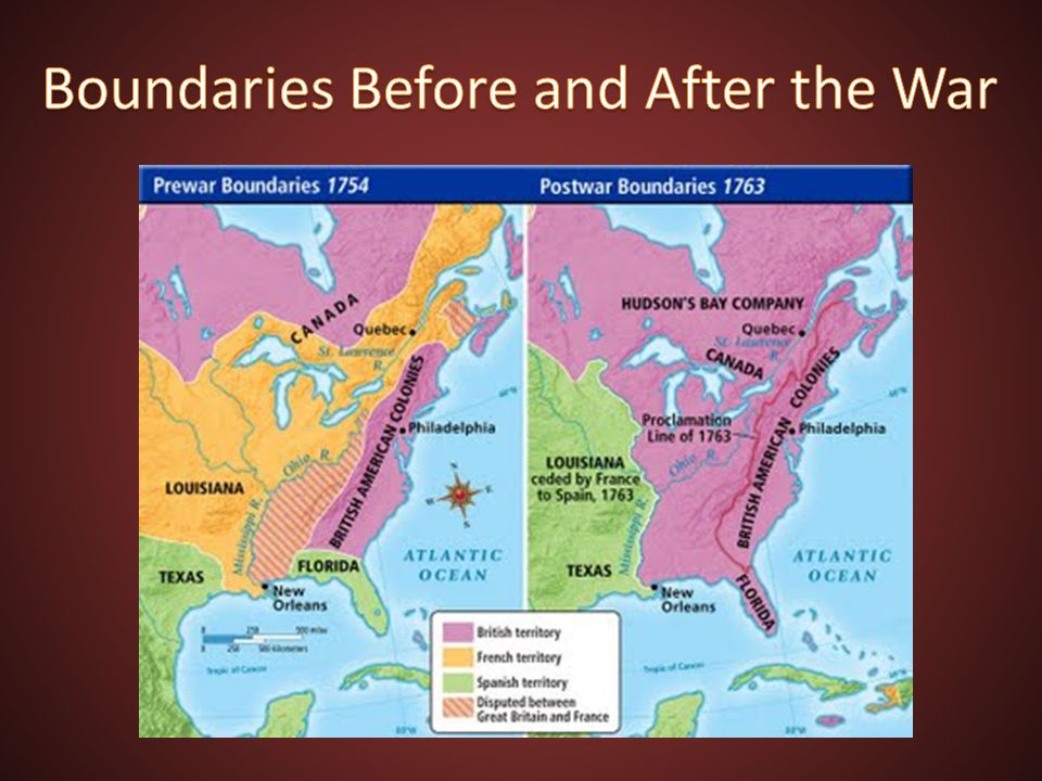 Boundaries Before and After the War