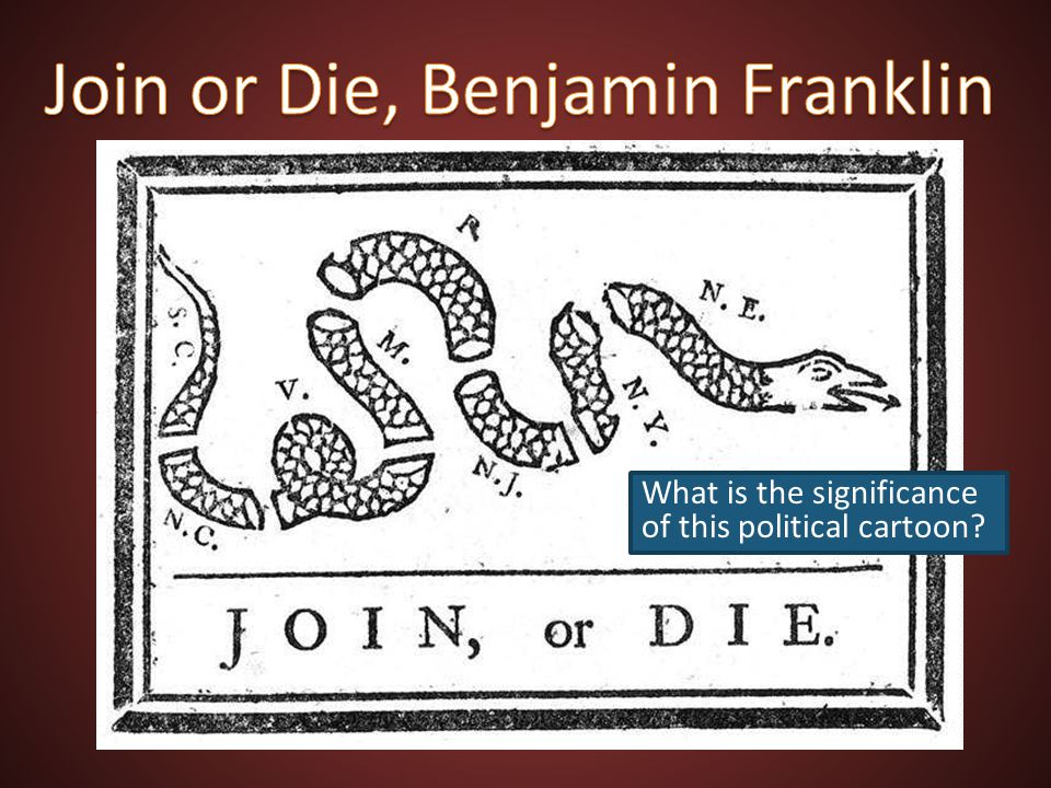 Join or Die, Benjamin Franklin