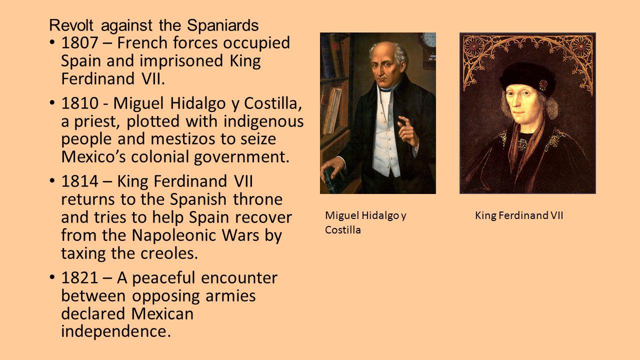 Revolt against the Spaniards
