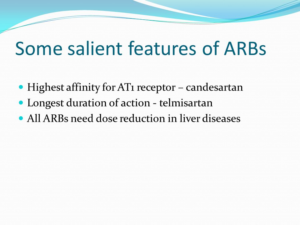 Some salient features of ARBs