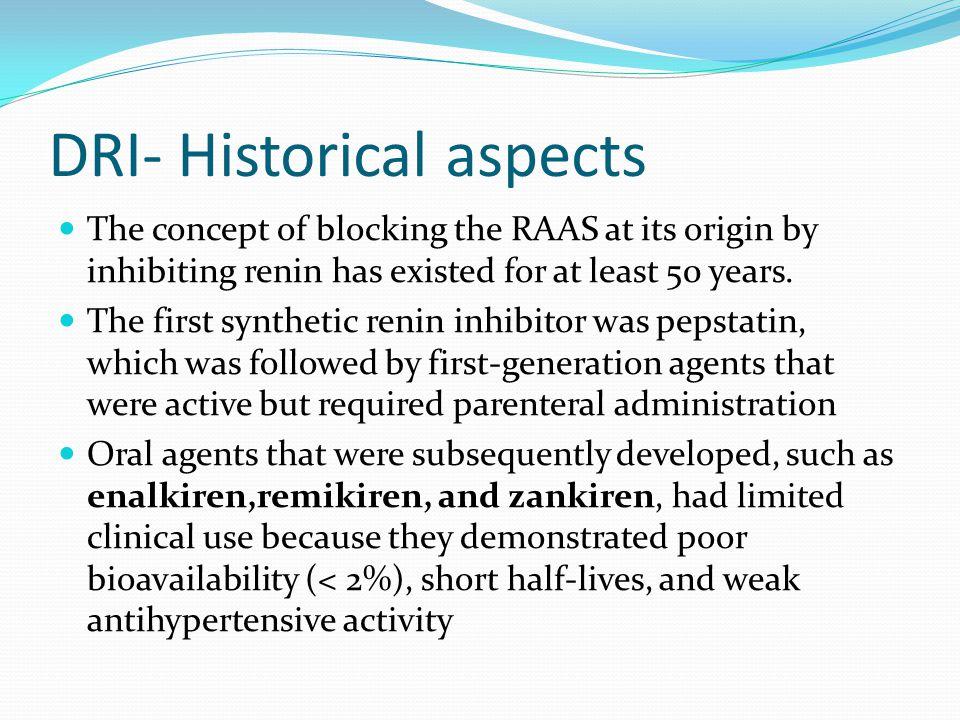 DRI- Historical aspects