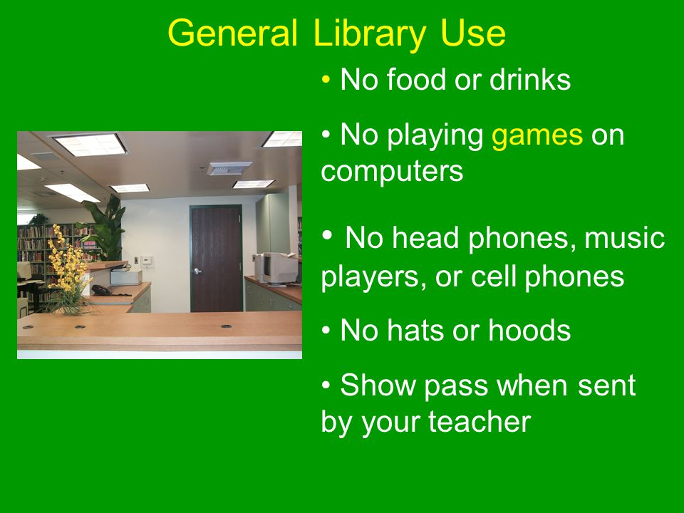 No head phones, music players, or cell phones