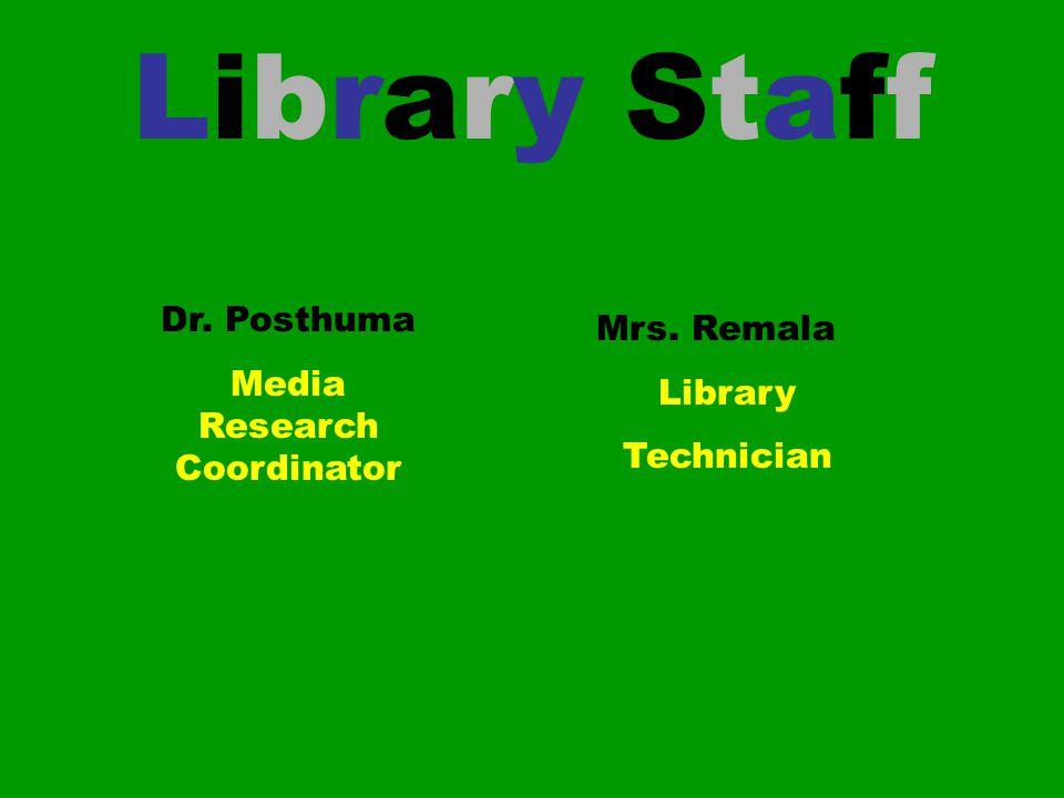 Media Research Coordinator