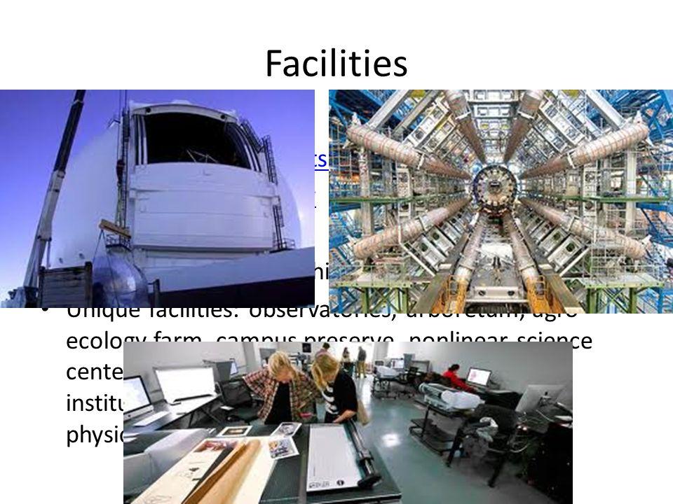 Facilities Research Facilities Arts and Performing Arts Facilities