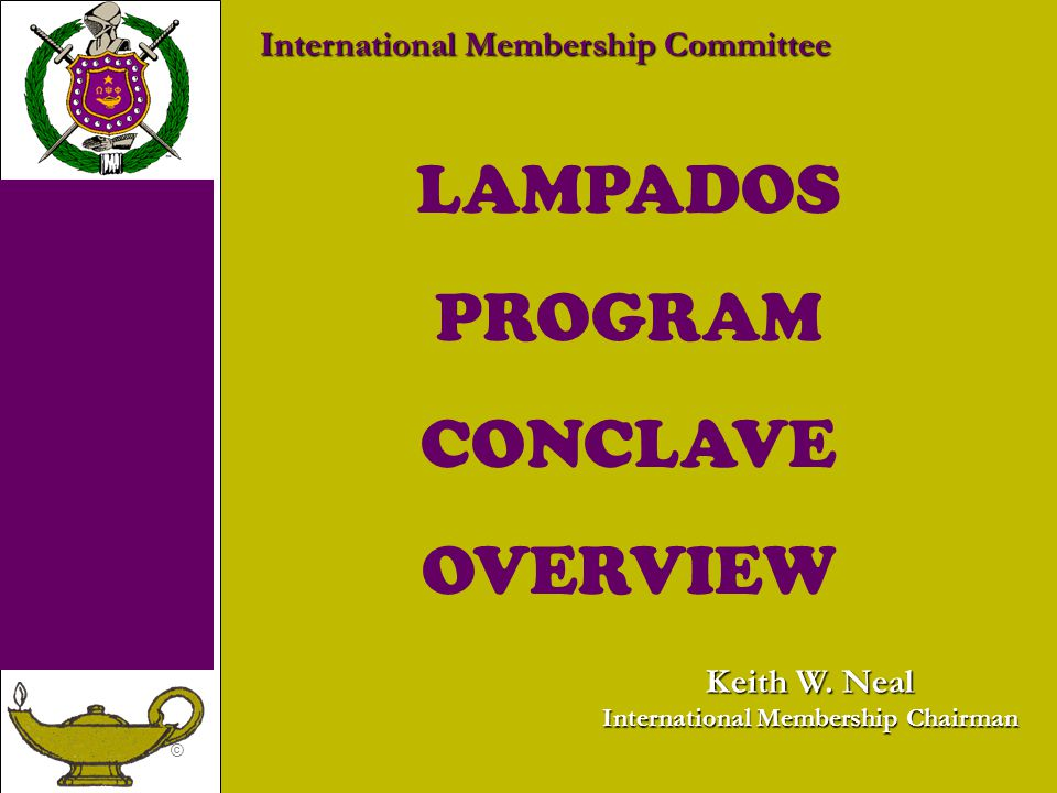 International Membership Chairman