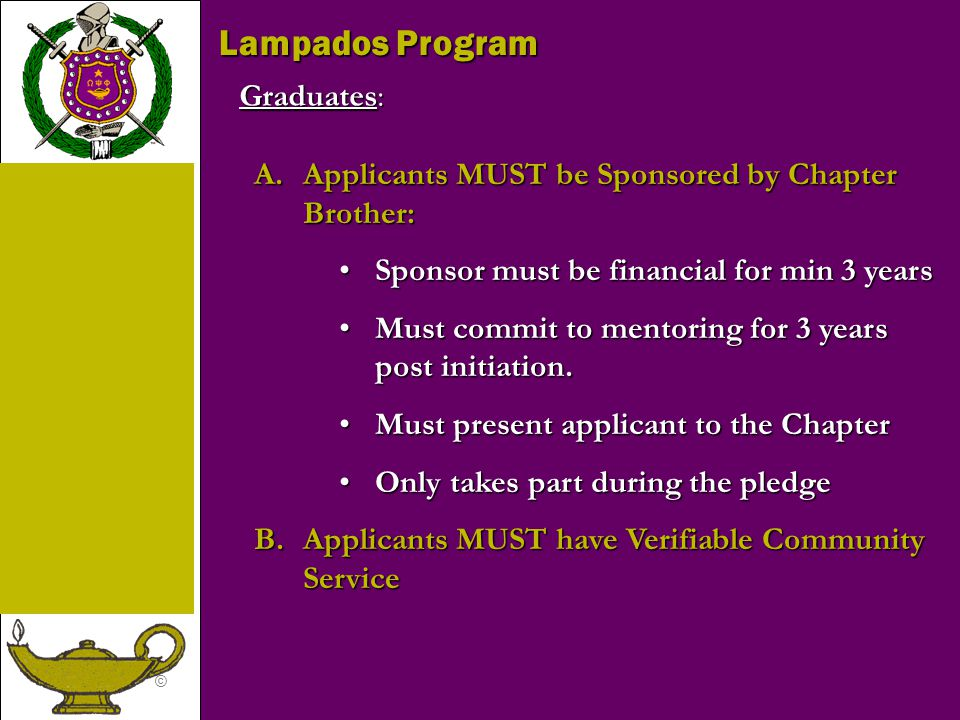Lampados Program Graduates: