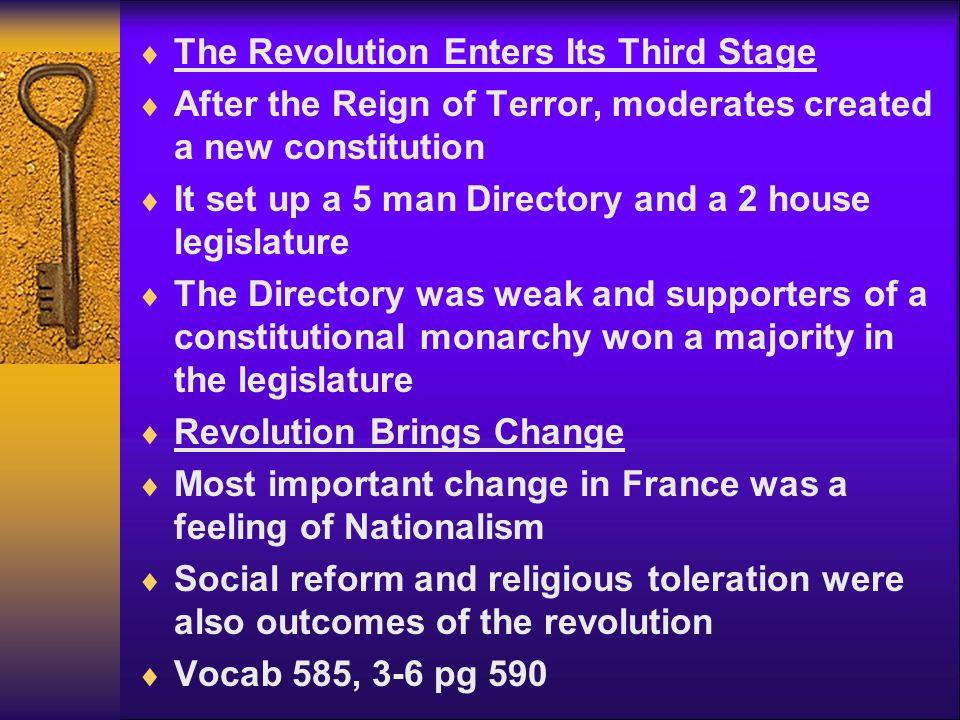 The Revolution Enters Its Third Stage