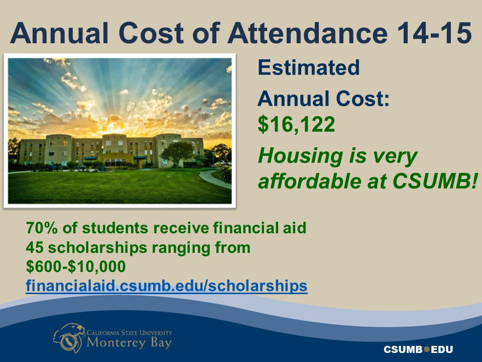 Annual Cost of Attendance 14-15