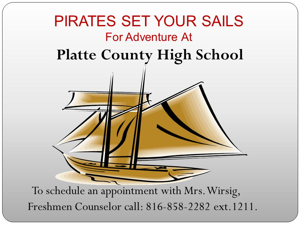 PIRATES SET YOUR SAILS For Adventure At