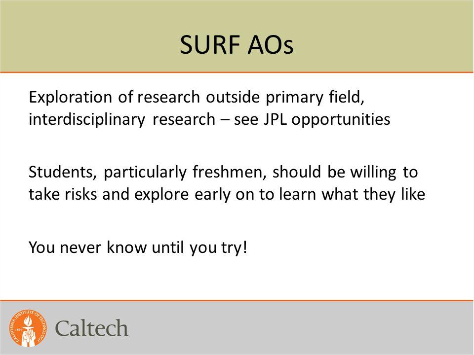 SURF AOs