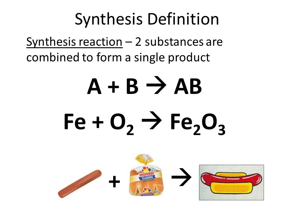 synthesize in writing definition