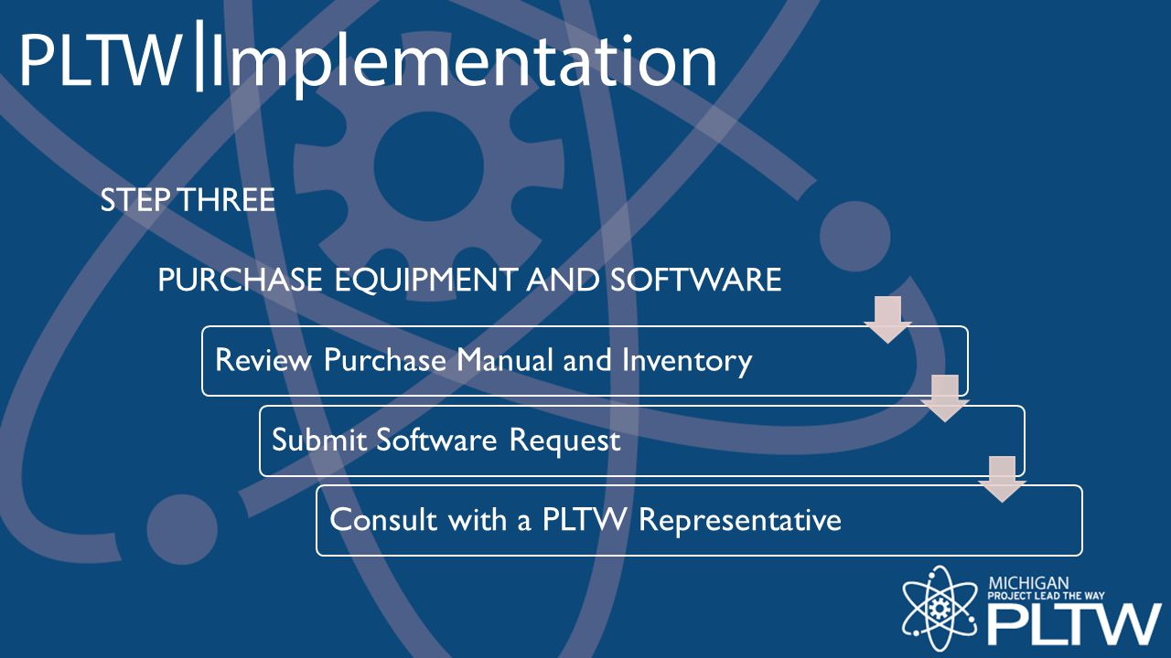 PURCHASE EQUIPMENT AND SOFTWARE