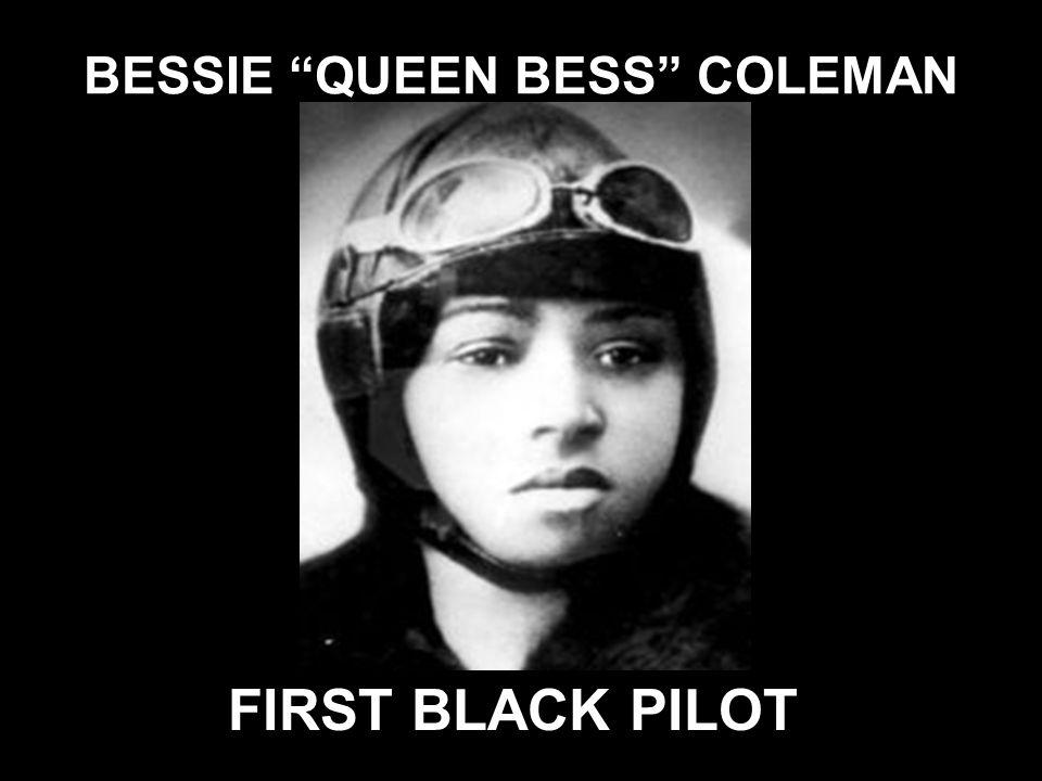 BESSIE QUEEN BESS COLEMAN