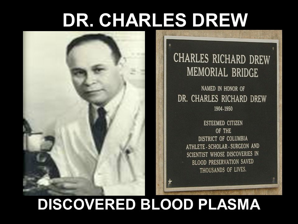 DISCOVERED BLOOD PLASMA