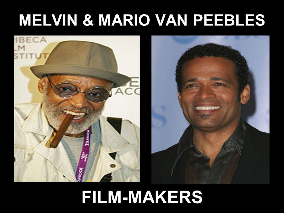 MELVIN & MARIO VAN PEEBLES