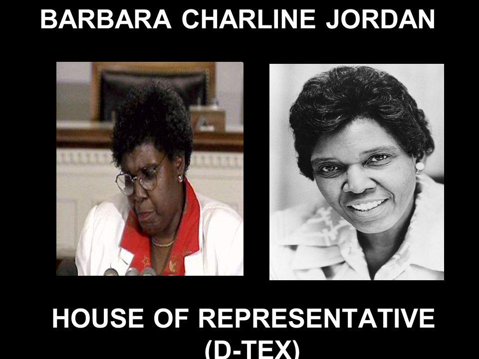 BARBARA CHARLINE JORDAN