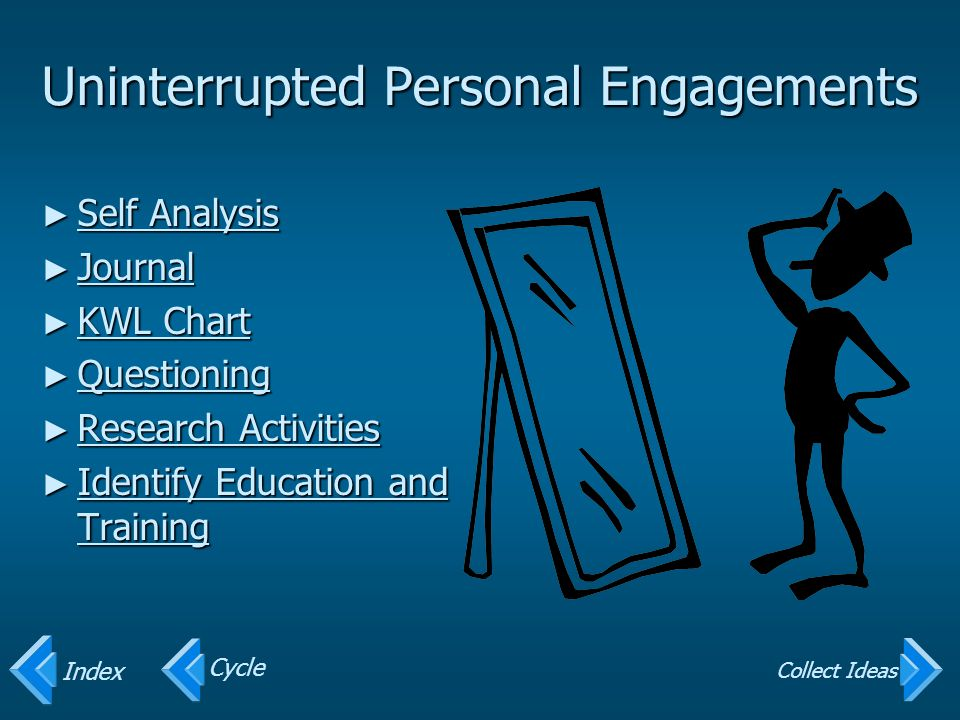 Uninterrupted Personal Engagements
