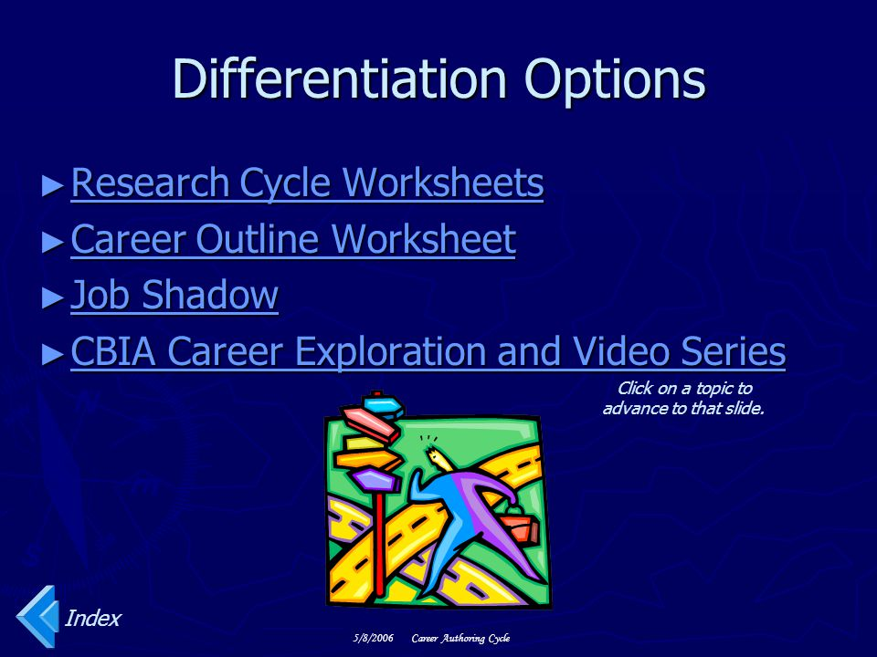 Differentiation Options