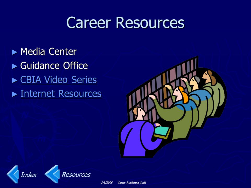 Career Resources Media Center Guidance Office CBIA Video Series