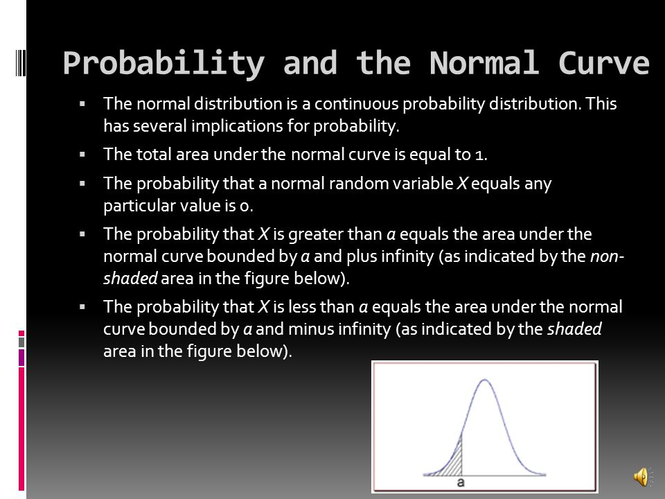 Probability and the Normal Curve