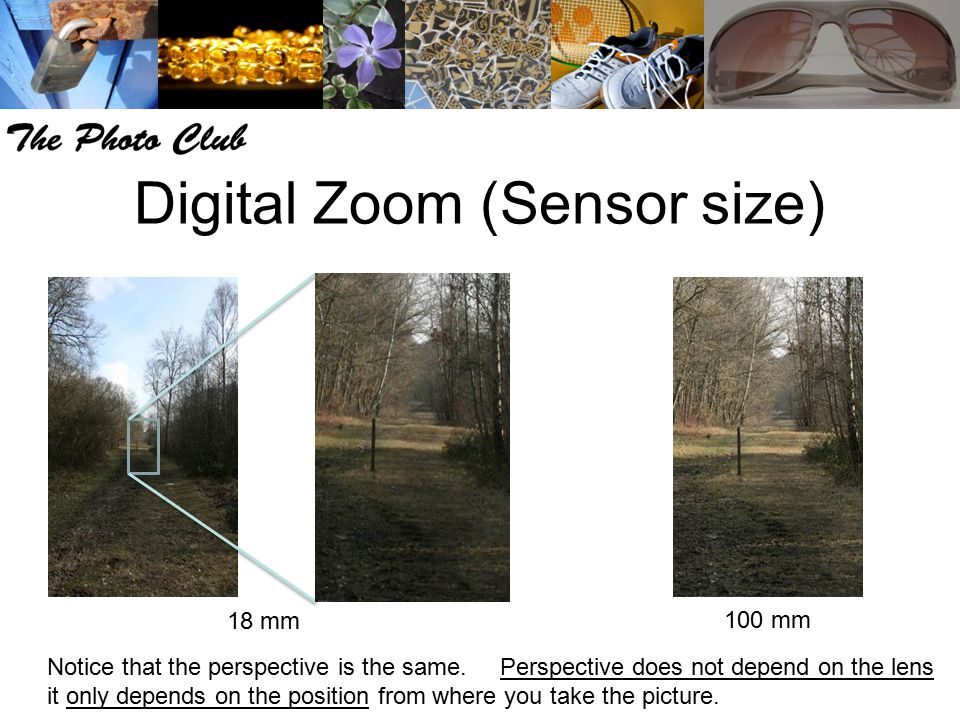 Digital Zoom (Sensor size)