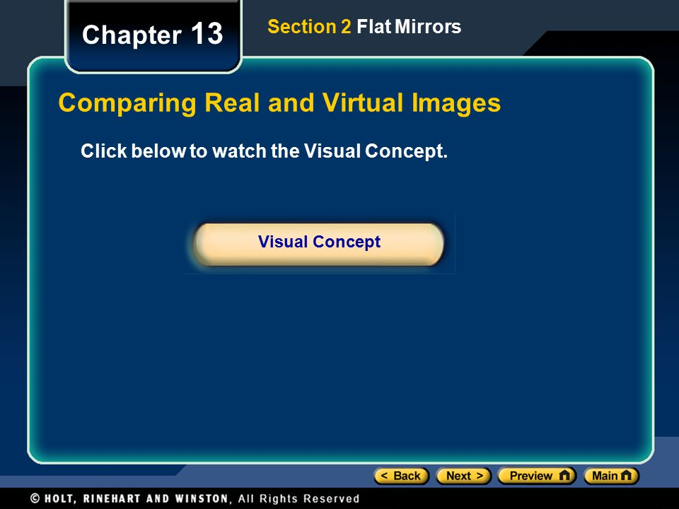 Comparing Real and Virtual Images