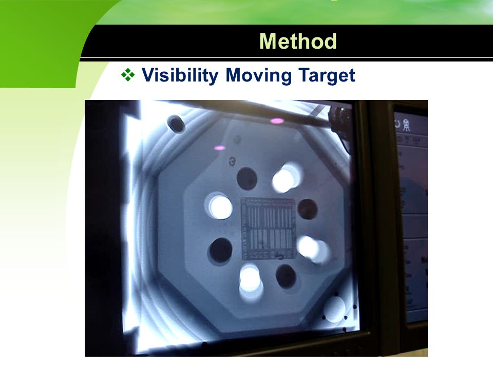 Method Visibility Moving Target