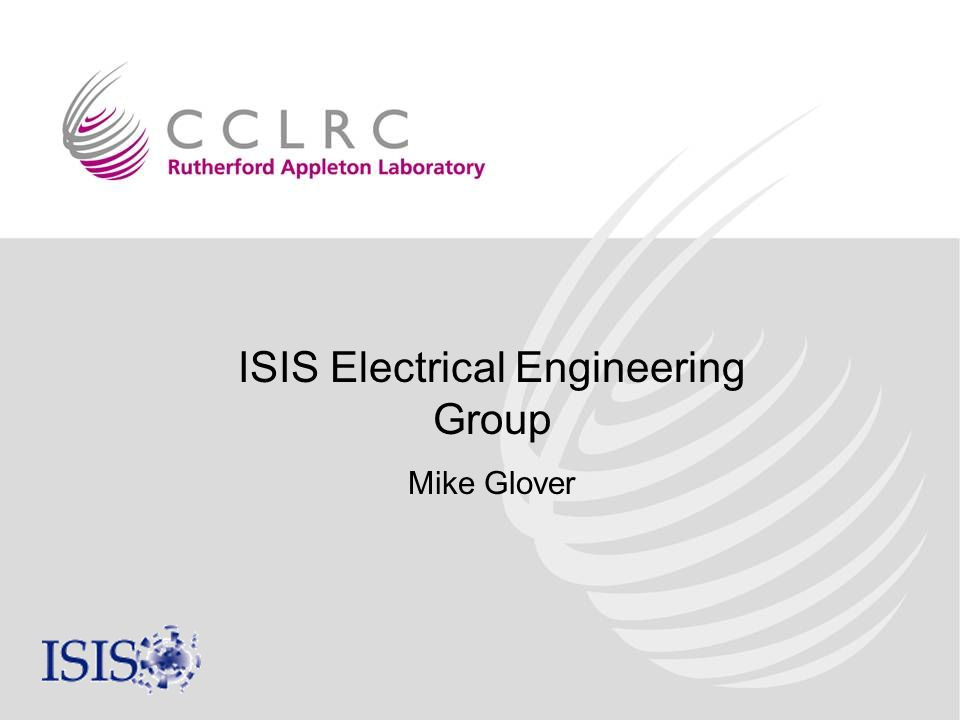 ISIS Electrical Engineering Group