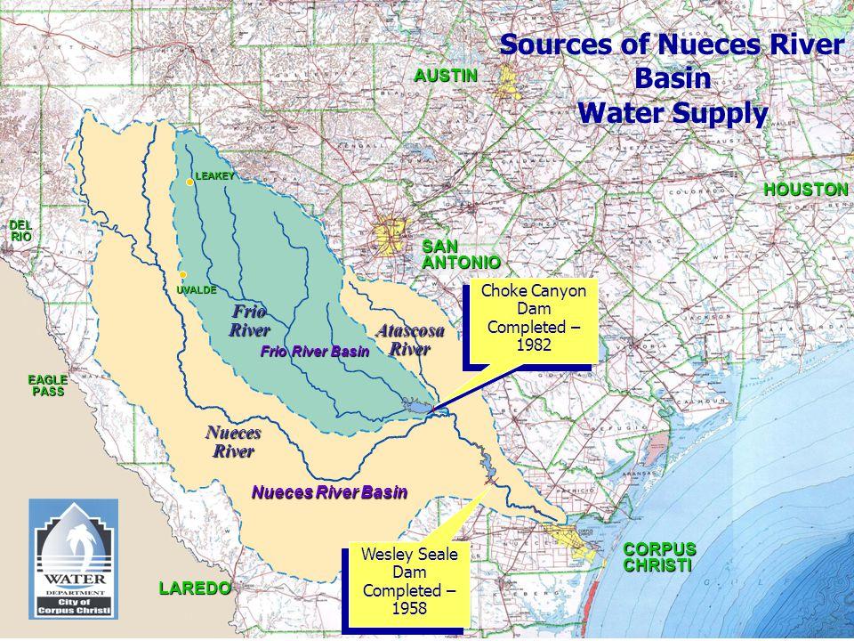 Sources of Nueces River