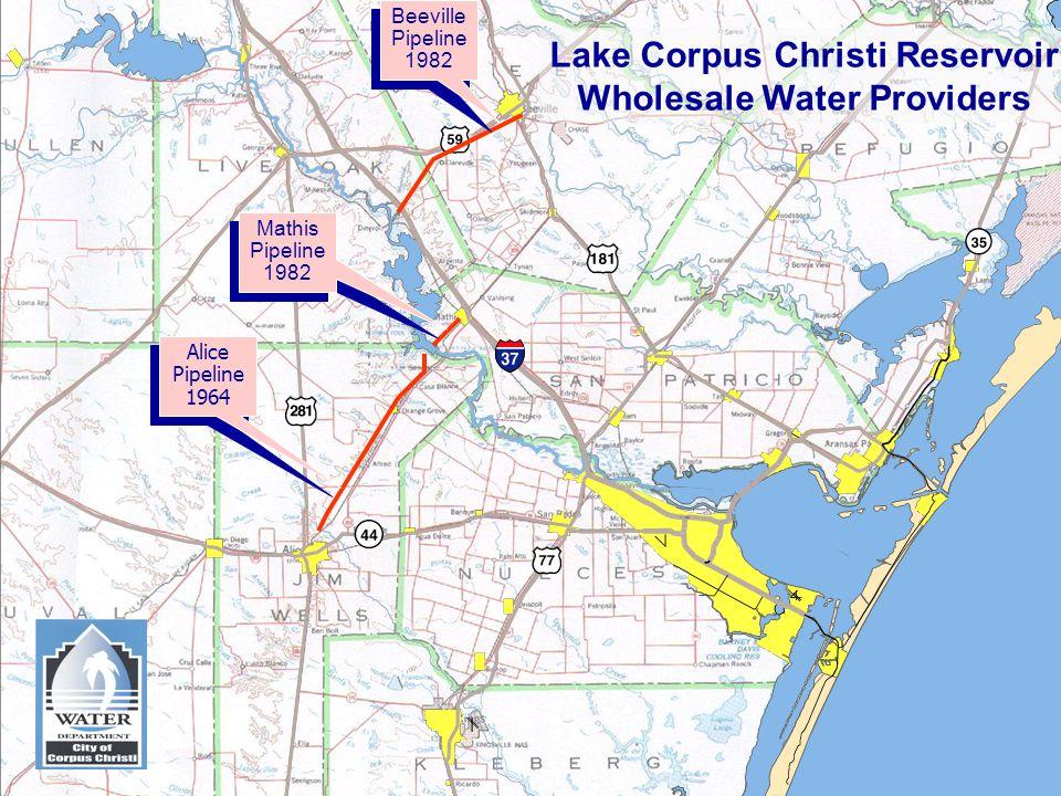 Lake Corpus Christi Reservoir Wholesale Water Providers
