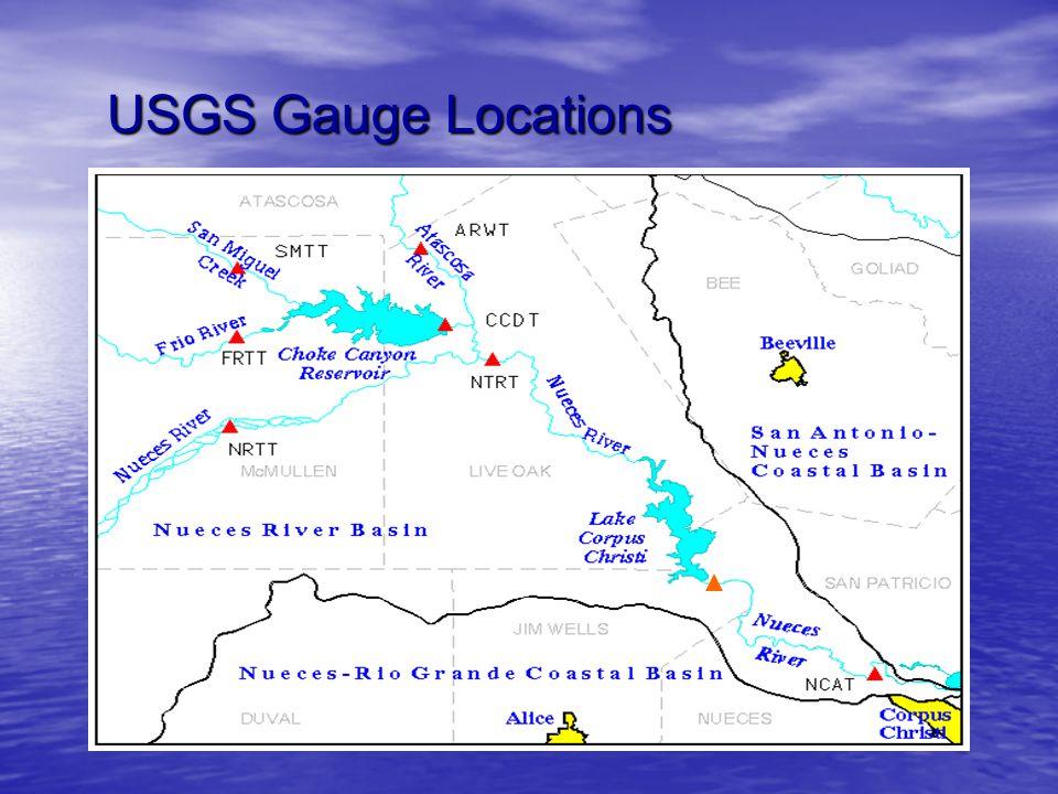 USGS Gauge Locations NRMT